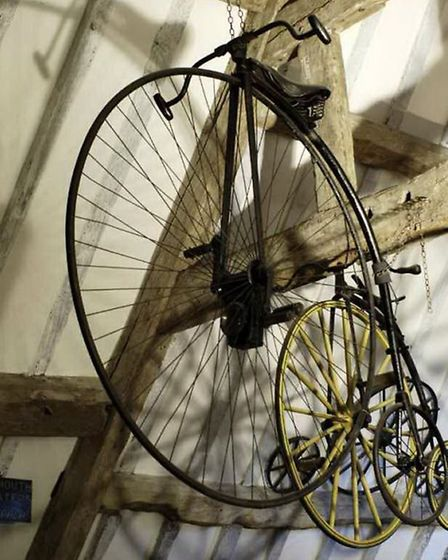 Penny farthing bicycle, Snowshill Manor