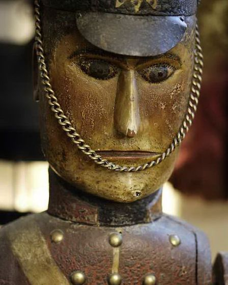Toy soldier at Snowshill Manor, Gloucestershire