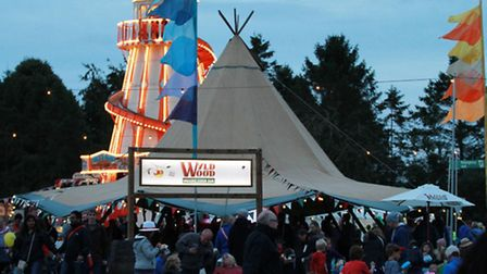 The Westons' Cider Teepee at The Big Feastival