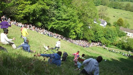 Cheese rolling / Image: David Farrance