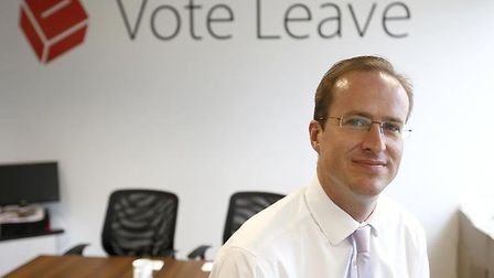 Vote Leave architect Matthew Elliott. Photograph: Vote Leave.