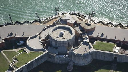 You can really see how the castle has expanded over the years from a bird's eye view