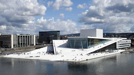 Oslo Opera House, home of the Norwegian National Opera and Ballet