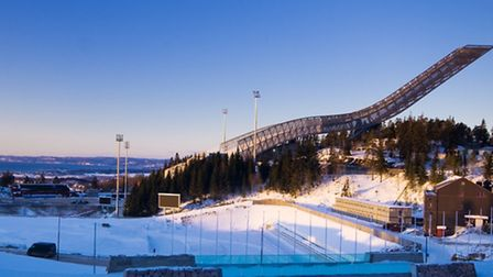 Holmenkollen ski jump - home to international competition and a ski museum