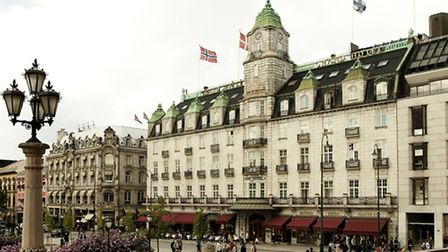 The Grand Hotel - guests inclue Henrik Ibsen and the Queen