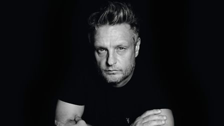 The artist behind the It's Glam up North exhibition, Rankin