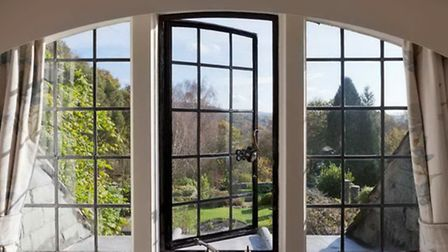 The view from a Cragwood window