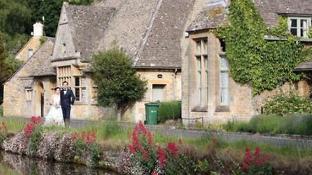 Drop by nearby stunning village Lower Slaughter - you may even spot a bride / Credit: Lynn Ede