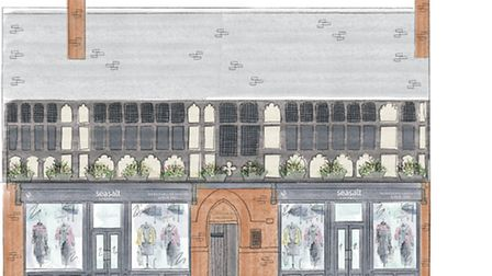 How the new store in Chester will look