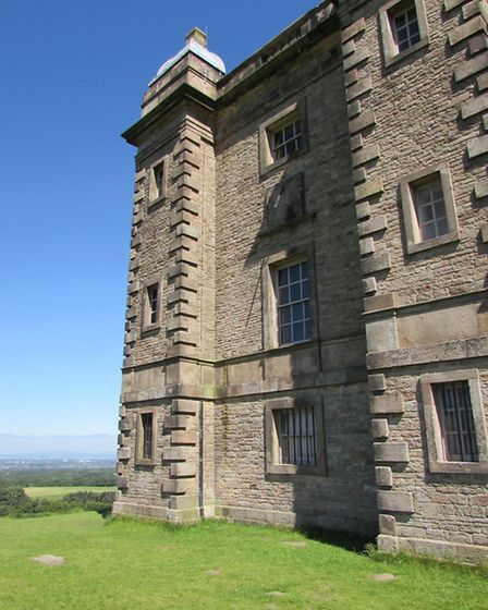 The Cage in Lyme Park