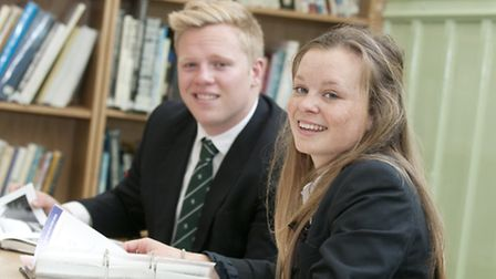 Sixth Form students at Plymouth College
