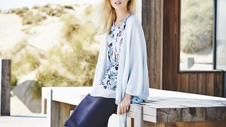 Scoop Cover Up Knit, £129, John Lewis, West Quay, Southampton and Knight & Lee, Southsea