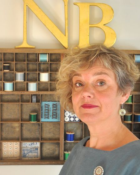 Naomi Beevers at her Guildford studio