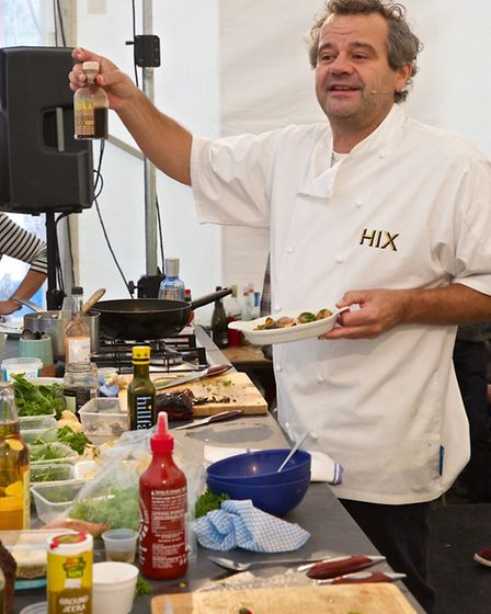 A feast for the eyes and the taste buds at Dartmouth Food Festival