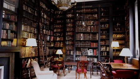 Portico Library Reading Room