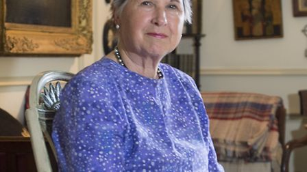 The Lord-Lieutenant of Surrey, Dame Sarah Goad, at her Bletchingley home (Photo: Andy Newbold)