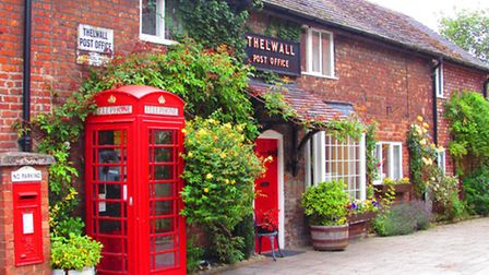 Thelwall village.