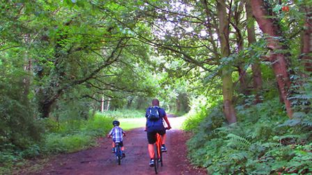 The Trans Pennine Trail.