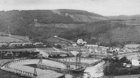 The copper port at Morwellham in about 1900 - part of the Devon Great Consols empire