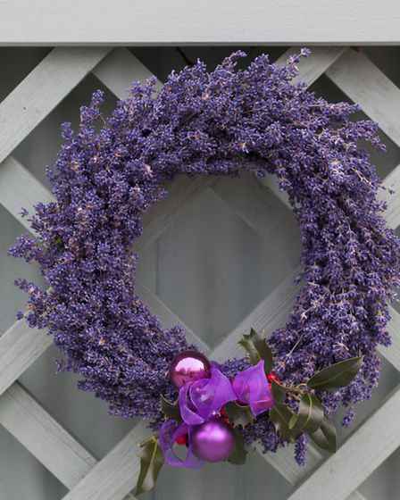 Hang your finished wreath