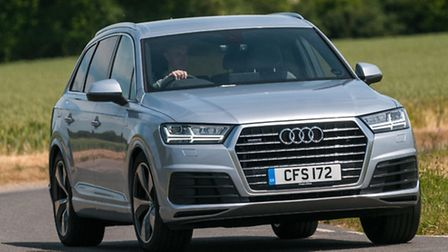 The new Audi Q7 is less bulky than its predecessor