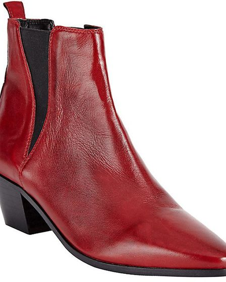 Somerset by Alice Temperley ankle boots £140, John Lewis