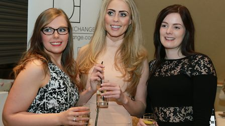 Sarah Critchley with Kate Robinson and Melissa Jones