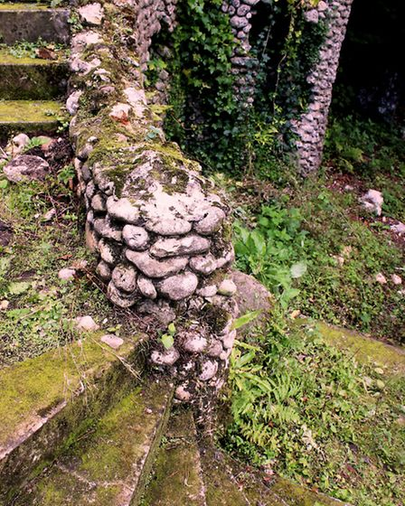 Remnants of the Embattled Tower at Deepdene Gardens (Photo: Matthew Williams)