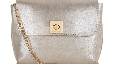 Amherst leather pouch bag £45, Monsoon