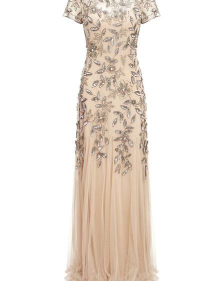 Floral sequin gown £290, Adrianna Papell