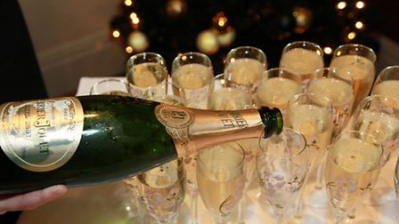 Will champagne be flowing for you over Christmas and New Year?