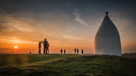 Cheshire Life, 2nd place 'White Nancy Sunset' by Dave Bower