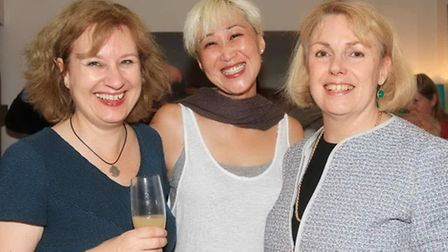 Melanie King, Amanda Baker and Anne Menzies