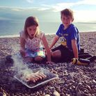Suzie Attaway, winner of our Dec #HolidayAlbum competition with this great family pic