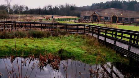Water's Edge leads guests into the new Heather Farm wetland centre (Photo: Matthew Williams)