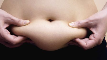 Reducing tummy fat can be a pain