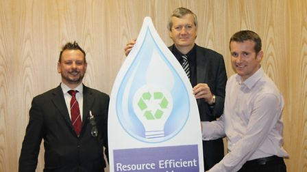 Cllr Anthony Blagg – Resource Efficient Worcestershire Project Board Chairman, Dr James Bridges – Re