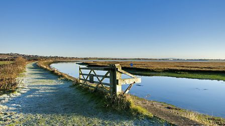 Farlington Marshes (photo by Ian Cameron-Reid)