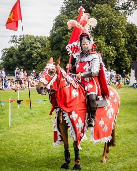 Get ready for the jousting tournament at Knebworth House in March