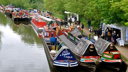 There will be plenty of narrowboats on the Grand Union Canal at the Rickmansworth Boat Festival in M