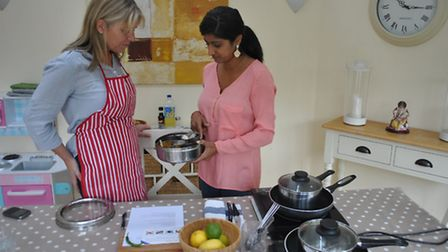 Taking a cookery class is a good resolution