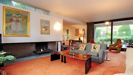 The living space has a spacious, open-plan feel
