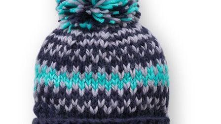 Juicy grape knitted hat £12, Oliver Bonas