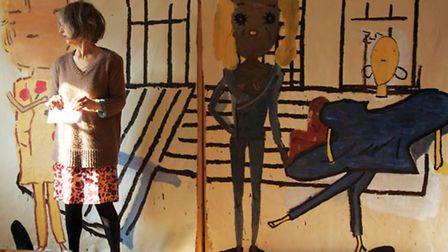 Rose Wylie at the Turner: courtesy of Union Gallery and the Artist