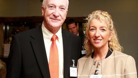 Bill Smith of STL Communications and Claire Wilcox of Santander Corporate Banking
