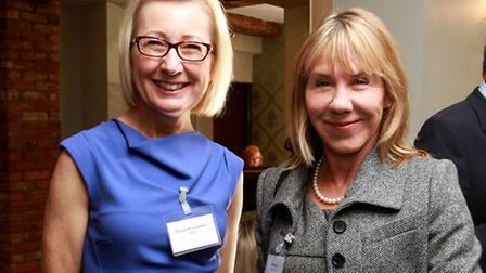 Elizabeth Saunders of BPE and Alice Welch of Robert Welch
