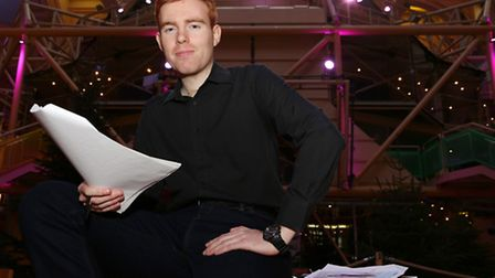 Playwright, Luke Gilfedder at the Royal Exchange Theatre, Manchester