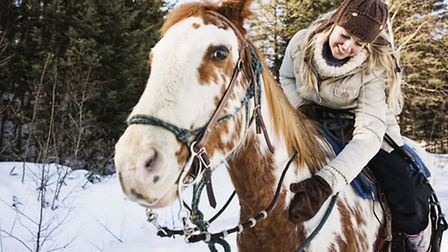 Horse riding has multiple benefits