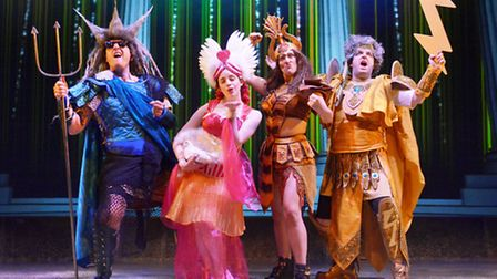 The popular Horrible Histories characters have leapt from the screen to the stage