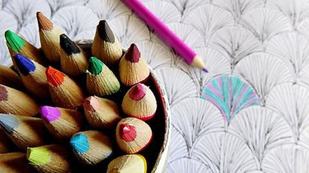 Adult colouring books have become a popular tool for Mindfullness therapy